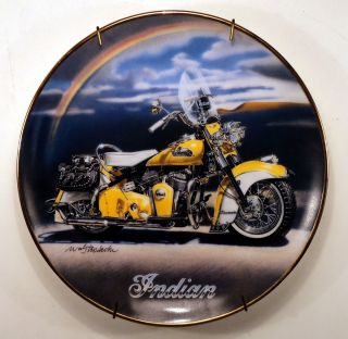 Royal Doulton Franklin Mint 1953 Roadmaster Indian Motorcycle Coll