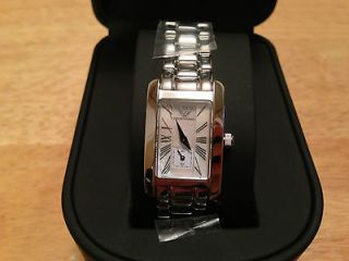 New With Tags Emporio Armani Classic Mother of Pearl Dial Watch AR0171