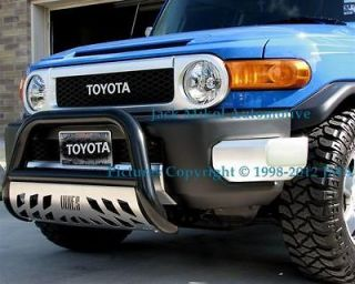 aries black bull bar 08 10 ford ranger skid plate