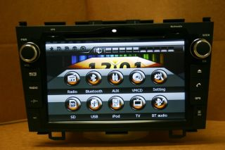 2010 2011 Honda CRV DVD GPS Navigation Navi Car Radio CD Player