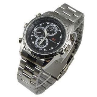 8GB Waterproof Watch Spy Camera DVR Mini Hidden Video Recorder
