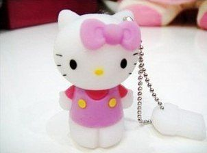 4GB Pink Hello Kitty USB Flash Memory Pen Drive Stick