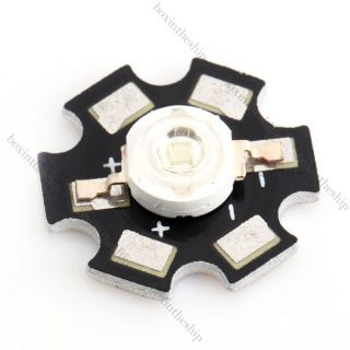 High Power 3W Green LED Wide Angle Light Lamp Star 140 Degrees