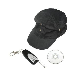 Mini Security Hidden Hat Video Spy Camera DVR Color Cam