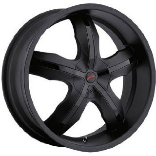 Platinum Widow 18x8 Black Wheel / Rim 5x110 & 5x115 with a 42mm Offset
