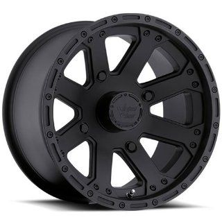 Vision Outback 14 Matte Black Wheel / Rim 4x115 with a 2.5mm Offset