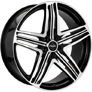 Menzari Sterzo 22x8.5 Black Wheel / Rim 5x112 with a 35mm Offset and a