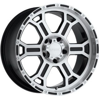 Tec Raptor 16 Machined Black Wheel / Rim 8x6.5 with a 18mm Offset