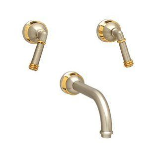 Phylrich WL109025 025 Polished Gold Bathroom Faucets Wall