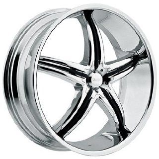 Viscera 770 22x8.5 Chrome Wheel / Rim 5x112 with a 35mm Offset and a