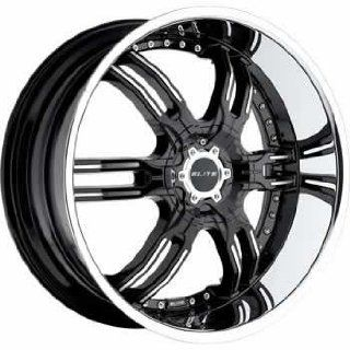 Elite Carnal 26x9.5 Black Wheel / Rim 6x135 & 6x5.5 with a 30mm Offset