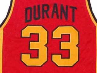 Kevin Durant Oak Hill High School Jersey Red New Any Size