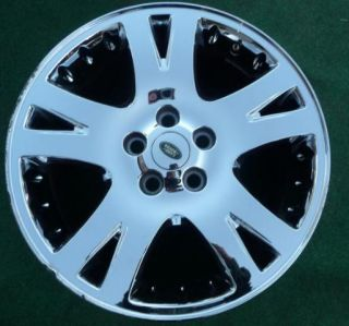 "1 Land Range Rover 19"" Chrome Alloy Wheel 5 Lug"