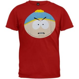 South Park   Cartman Angry Face Soft T Shirt Clothing