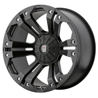 20x9 KMC XD Monster (Matte Black) Wheels/Rims 5x127/139.7