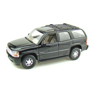 Welly 1/18 GMC Yukon / Chevy Tahoe Police SUV   BLACK