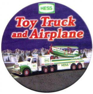 Hess Toy Truck Advertising Employee Pin Button 2002 (eleventh button