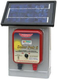 Parmak 6V Solar Electric Fence Energizer Charger New