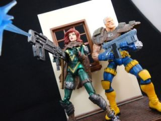 Marvel Legends 2012 Custom Hope Summers Improved with Much More Detail