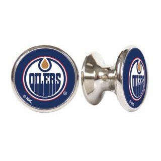 Edmonton Oilers NHL Stainless Steel Cabinet Knobs / Drawer