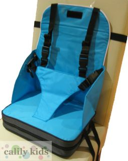 Baby Toddler Portable Foldup High Chair Booster Seat Blue