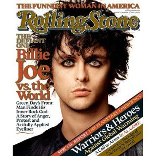 Billie Joe Armstrong 2005 Rolling Stone Cover Poster