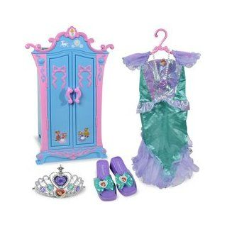 Disney Princess Cinderella Armoire with Ariel Dress Up