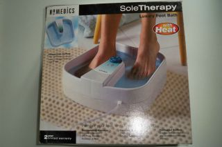 Sole Therapy Deluxe Luxury Foot Bath Spa with Heat Massage
