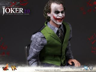 Batman Dark Knight TDK Joker Version 2 0 2 V2 Heath Ledger New