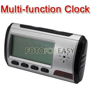 USB Alarm Clock Video DVR Hidden Spy Nanny Camera DV 1280x960