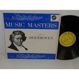 LUDWIG VAN BEETHOVEN His Story and His Music LP VOX Music