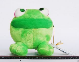 Gigapals Friggle Green Frog Plush Stuffed Animal Toy New with Adoption