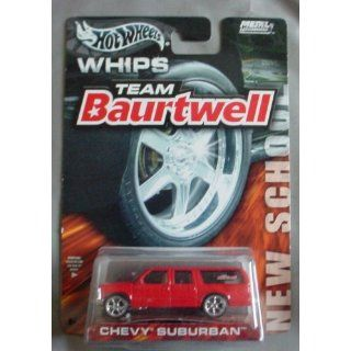 Hot Wheels Team Baurtwell WHIPS New School Chevy Suburban