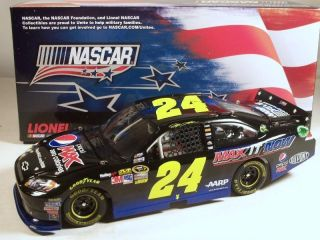 2012 JEFF GORDON NASCAR UNITES PEPSI MAX 1 24 NEW MINT ACTION LIONEL