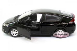 New 1 32 Honda Insight Alloy Diecast Model Car with Sound Light Black