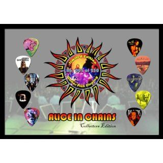 Alice in Chains Premium Celluloid Guitar Picks Display