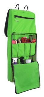 Grooming Carrier Horse Trailer Travel Tack Rack Room Tote Bag Lime