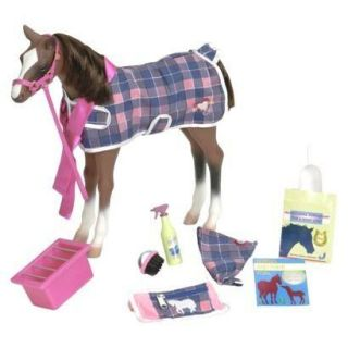 New Quarter Horse Foal with Accessories for Doll 18 Our Generation