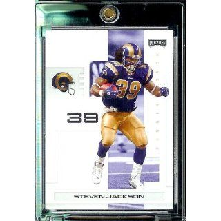 2007 Playoff NFL Playoffs Football # 93 Steven Jackson