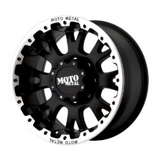 Moto Metal MO956 20x10 Black Wheel / Rim 6x135 with a  12mm Offset and