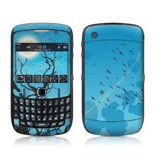 Winter Sky Design Skin Decal Sticker for Blackberry Curve