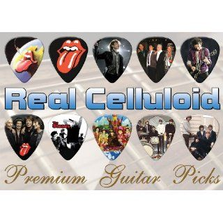 Rolling Stones Premuim Guitar Picks X 10 (TR) Musical