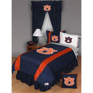 NCAA Auburn Tigers   5pc BED IN A BAG   Queen Bedding Set