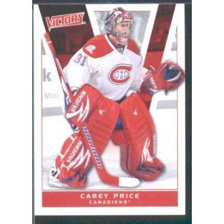 2010/11 Upper Deck Victory Hockey # 104 Carey Price