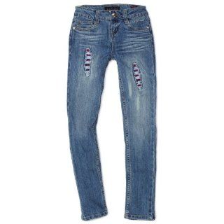 Baby Phat   Kids Girls 7 16 Sequin Jean, Medium Wash, 12