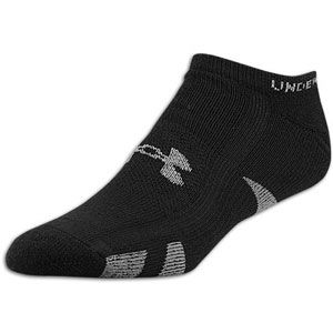 Under Armour Heatgear No Show 4 Pack Socks   Mens   Training