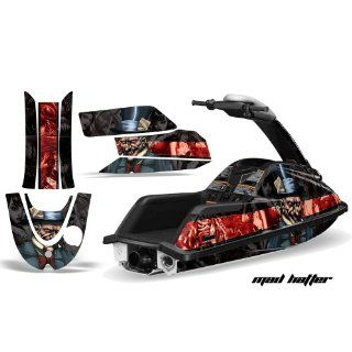 AMR Racing Yamaha Superjet Jet Ski Graphic Wrap Kit (round nose