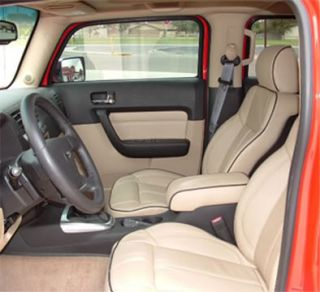 HUMMER H1, H2 or H3   NEW Genuine Leather Interior Upgrade Package .