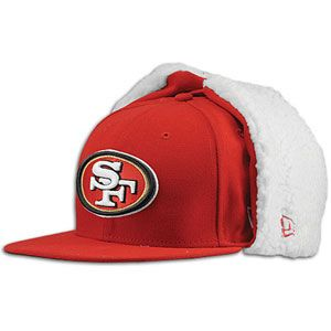 New Era NFL 59Fifty Sideline Dog Ear Cap   Mens   San Francisco 49ers