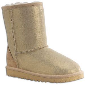 UGG Classic Glitter   Girls Toddler   Casual   Shoes   Gold